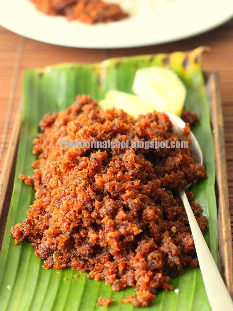 The Informal Chef: Sambal Udang Kering/Dried Shrimp Sambal - The Product