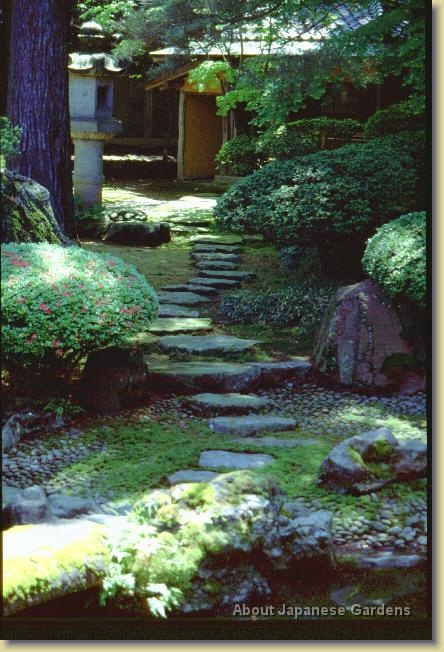 About Japanese Gardens   Path With Stepping Stones