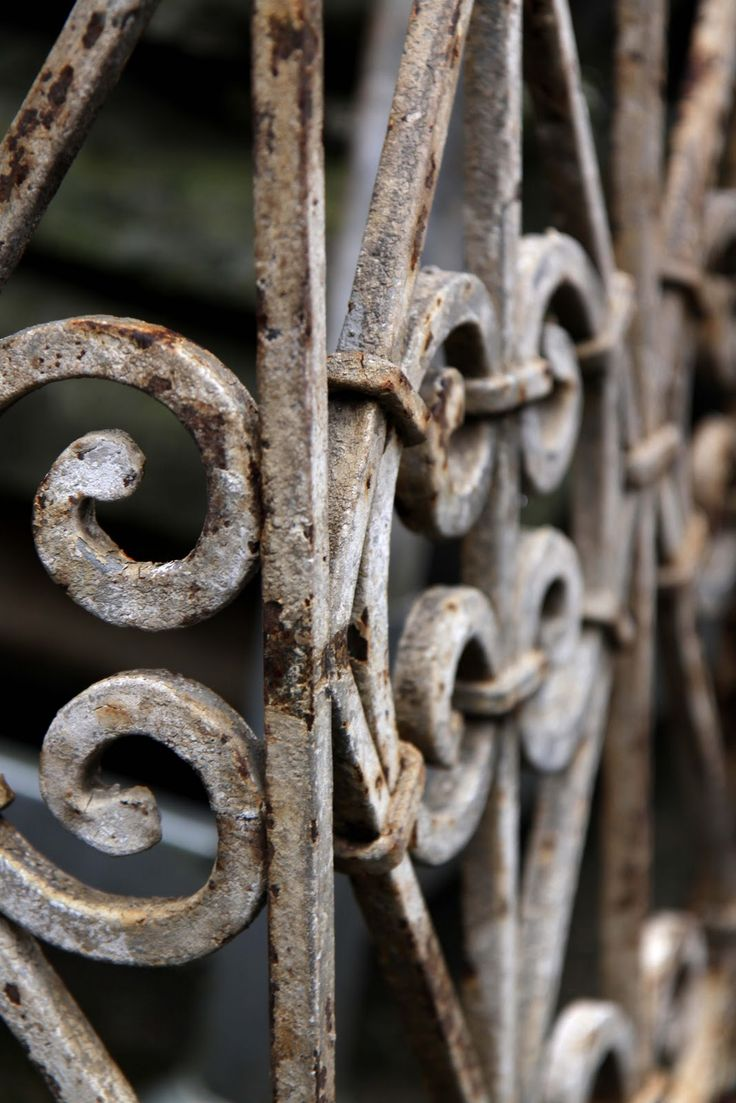Pin antique garden gates in wrought iron an art nouveau style on - Find This Pin And More On Iron Art