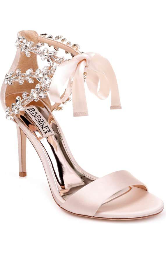 Badgley Mischka Felicia Embellished Sandal Women Nordstrom Wedding Shoes Heels Embellished Sandals Fancy Shoes