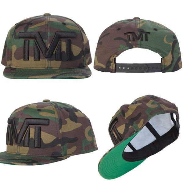 TMT TBE 50-0 The Money Team Snapback Cap Floyd Mayweather Gorra Visera Plana