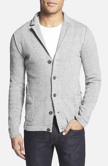 BOSS Orange 'Adalbergs' Five-Button Knit Blazer available at #Nordstrom