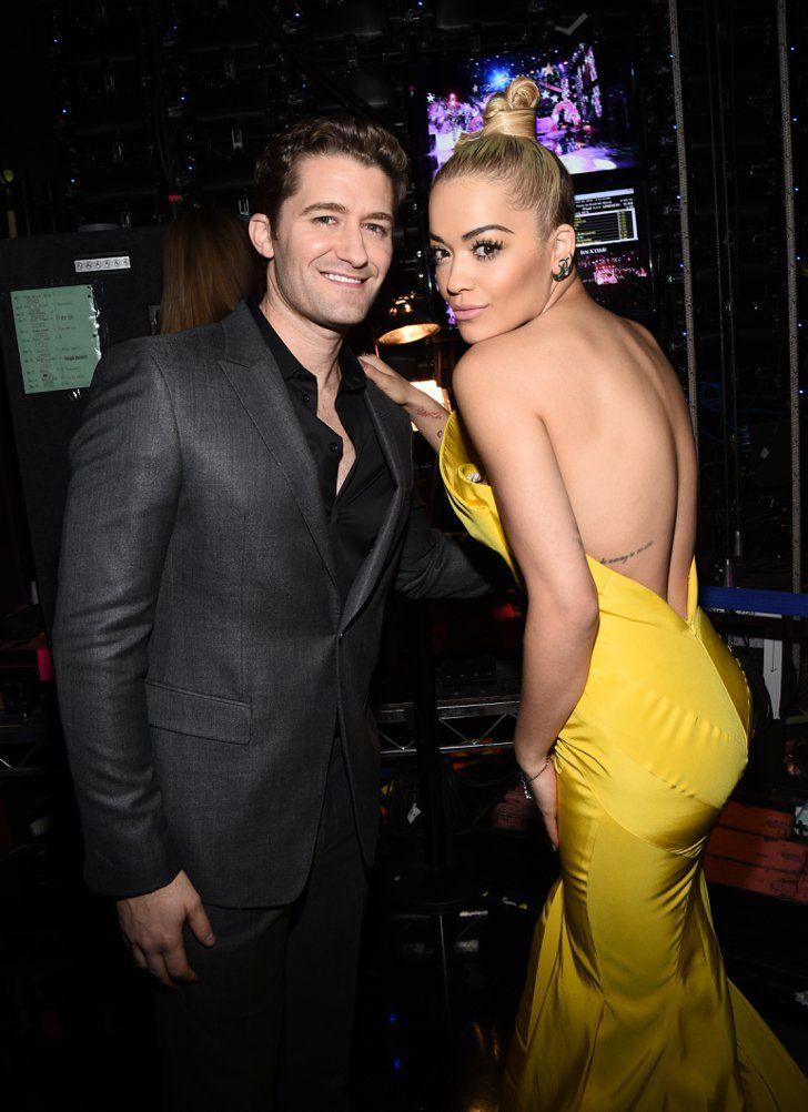 Pin for Later: Les Meilleurs Moments des AMAs Ne Se Sont Pas Passé Devant les Caméras Matthew Morrison et Rita Ora