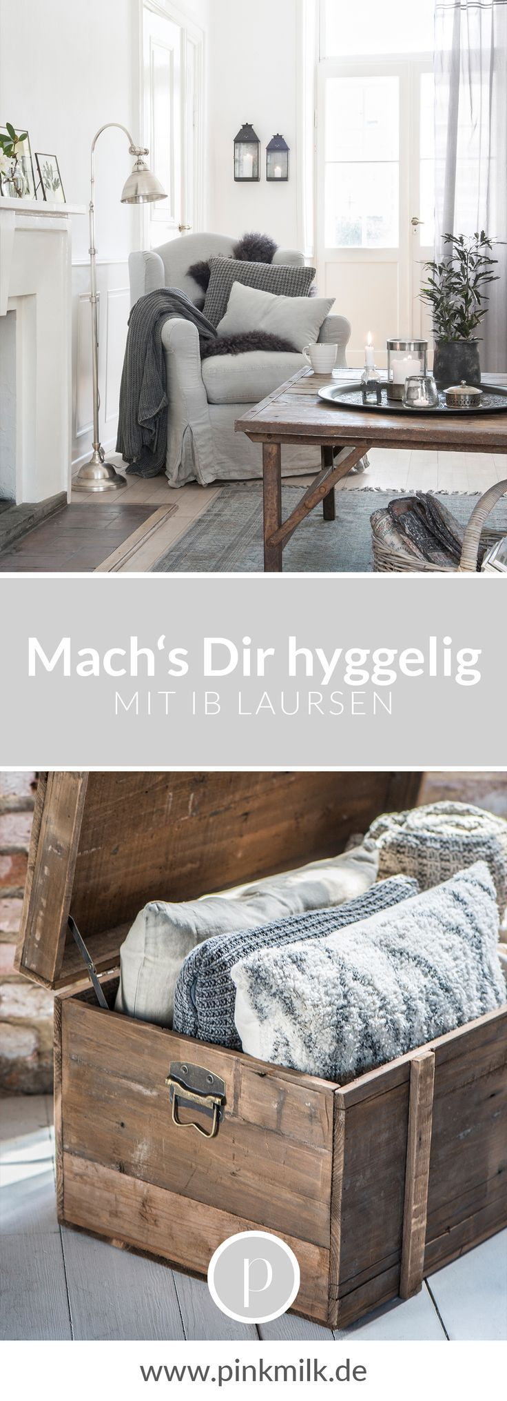 Make you hyggelig! With the great products of Ib Laursen in modern country home ...