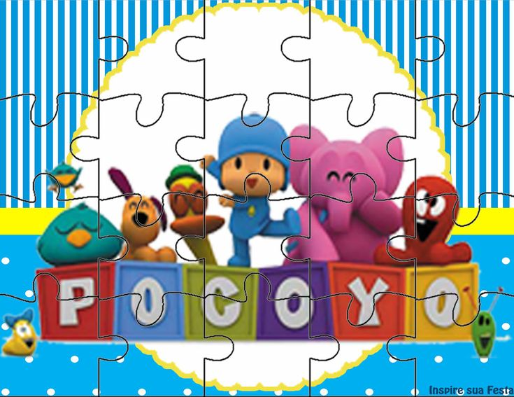 Pocoyo Kit festa infantil grátis para imprimir – Inspire sua Festa ®