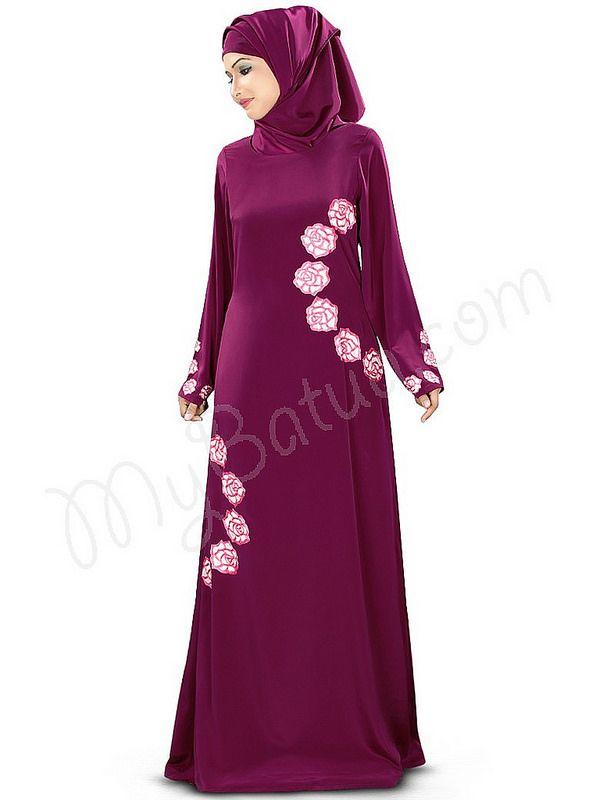 Maysaa Abaya!    Style No: Ay-343   Shopping Link  : http://www.mybatua.com/maysaa-abaya   Available Sizes XS to 7XL (size chart: http://www.mybatua.com/size-chart/#ABAYA/JILBAB)