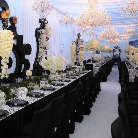 Kim Kardashian: fotos de su boda - El banquete de bodas de Kim Kardashian