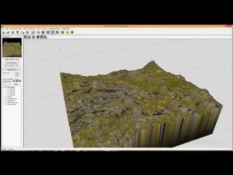 World Machine - Splatmap+Texture Switch demonstration - YouTube