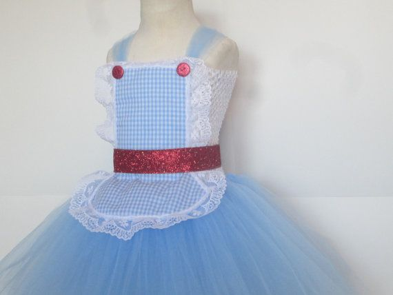 Dorothy Costume Tutu Dress Baby Girls Toddler
