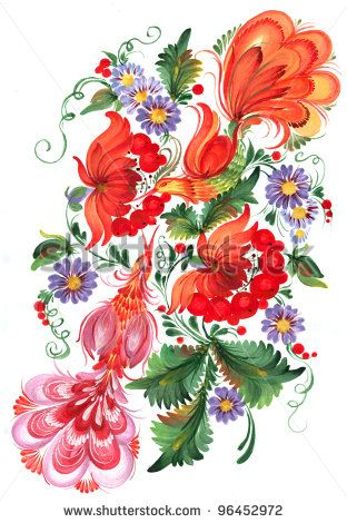 stock-photo-the-ukrainian-decorative-list-composition-of-birds-sitting-on-guelder-rose-branches-handwork-96452972.jpg (312×470)