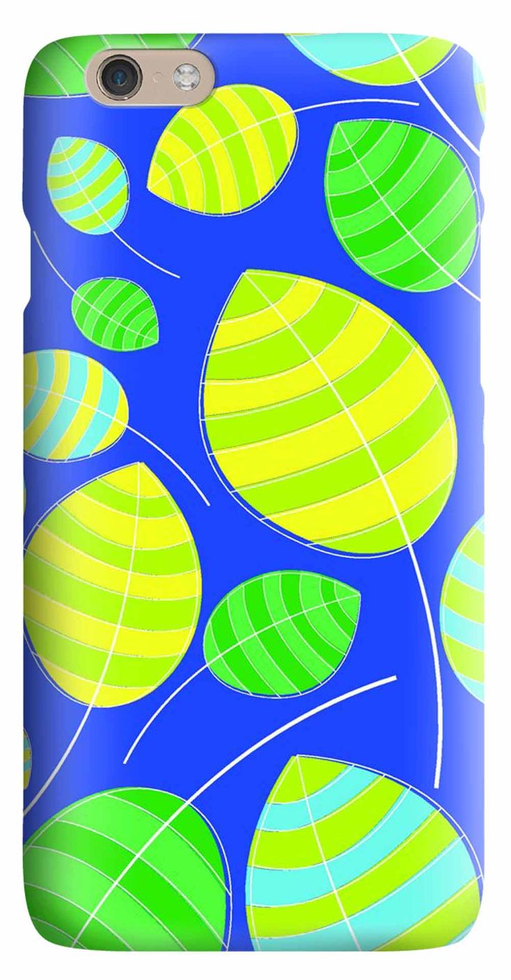 Whatskin DIY Style Stick Figure Leaves Hard Back Cover for iphone 6
