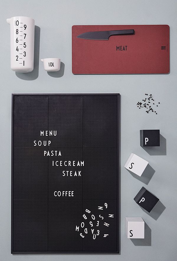 For those who love design in the kitchen
