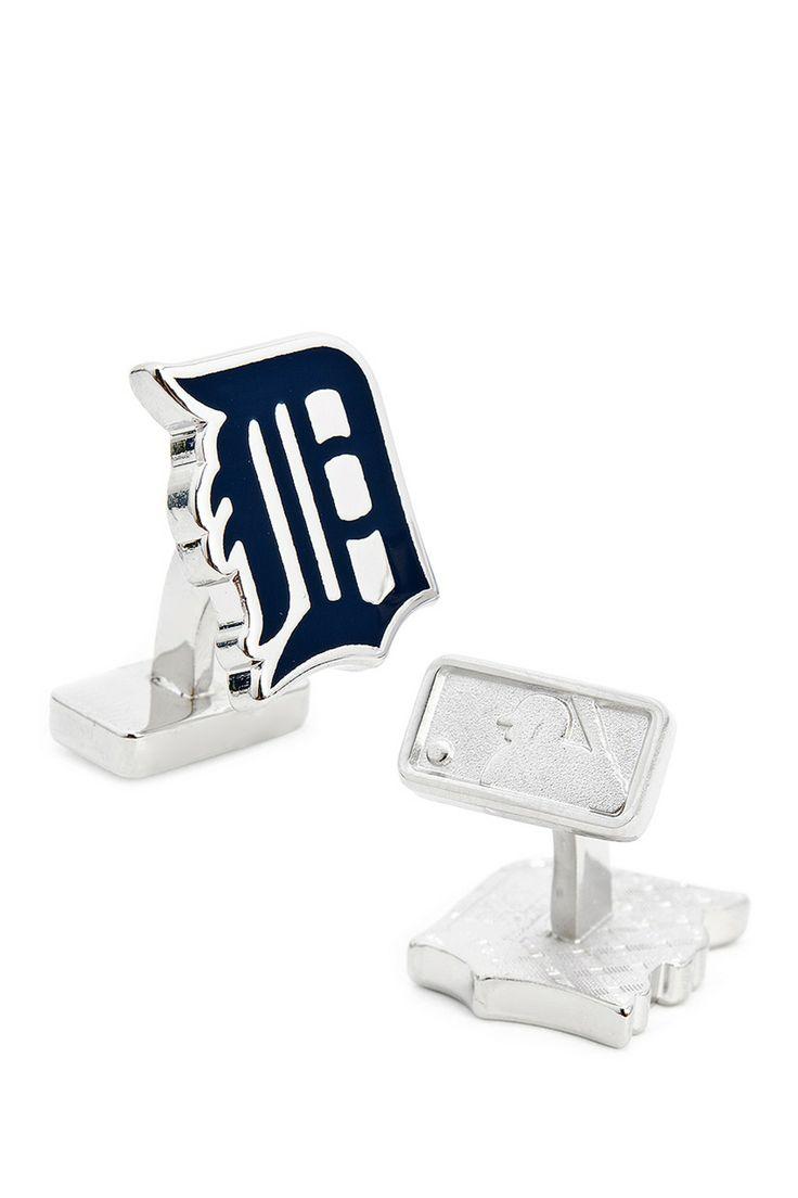 Palladium Team Cuff Links for the groomsmen (Detroit Tigers)