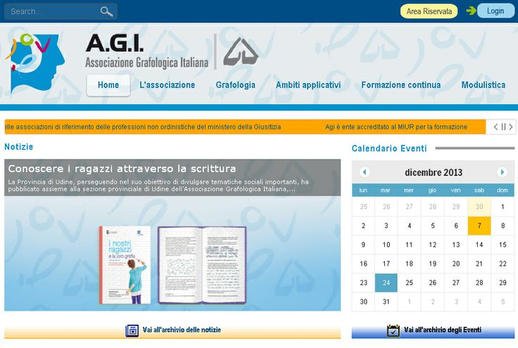 Home page del portale www.a-g-i.it
