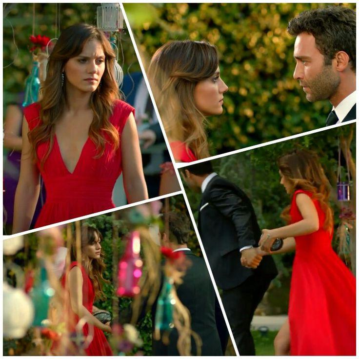 Falling in love with that red dress.  #ateşböcegi as astonishing fairytale's princesse! #nilaydeniz στα καλύτερα της ♡