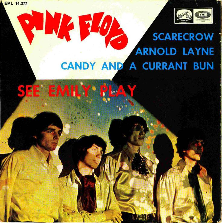 45cat - The Pink Floyd - See Emily Play - La Voz De Su Amo - Spain