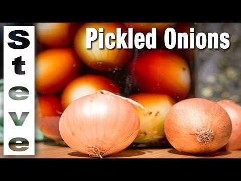 Learn How To Make Crispy Pickled Onions perfectly every time! Steve from Steve's Kitchen is showing us how today with this easy to follow video tutorial.