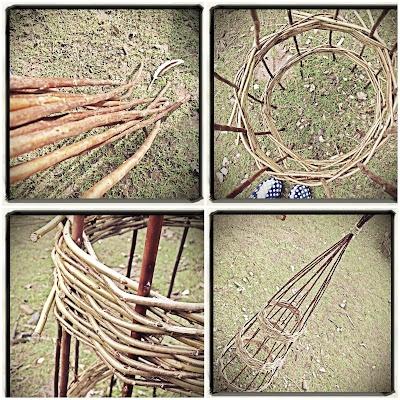 Willow weaving workshop.