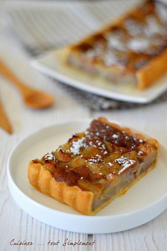 Tarte Poire - Crème de Marrons