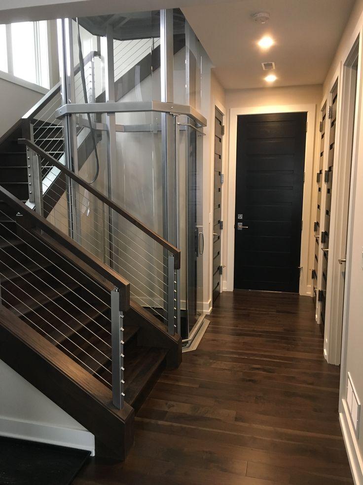 9 best visilift glass elevators in modern residential for Modern home elevators