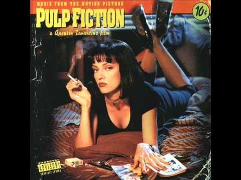 "While in my late -teens I read the entire ""Divine Comedy"" while listening to the Pulp Fiction Soundtrack."