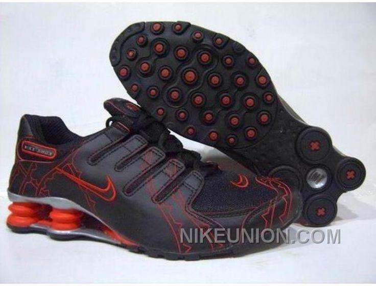 cheap for discount 583ac f11b4 ... Shox Nike Shox NZ Imagery Black Red Silver Nike Shox NZ - The Nike Shox  NZ ...