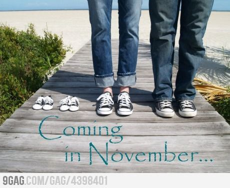 Pretty much the cutest announcement...: Picture, Cutest Announcement, Pregnancy Announcements, Cute Ideas, Cute Baby Announcements, Announcement Ideas, Cute Babies, Photo