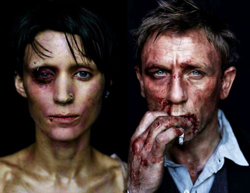 rooney mara & daniel craig / The Girl with the Dragon Tatoo