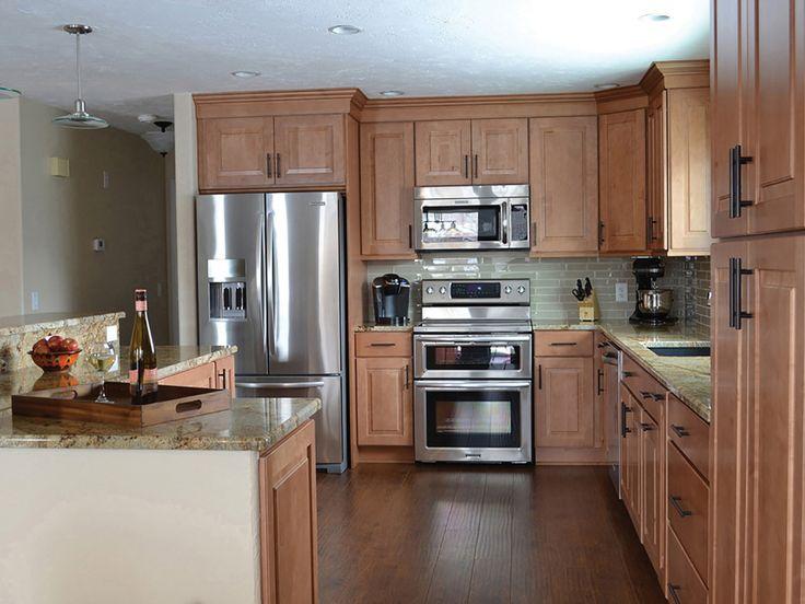 3 AFTER Beulah North Dakota kitchen renovation features ...