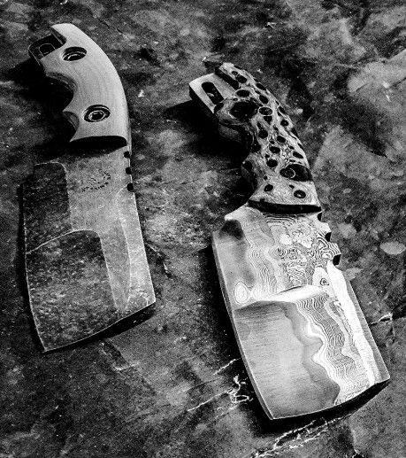 Half Life Knives Duece cleavers...