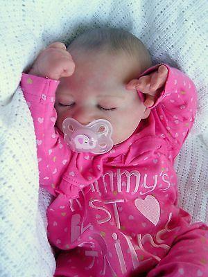 STUNNING REBORN BABY GIRL LILIA BY NATALI BLICK ARTIST BABIES2TREASURE