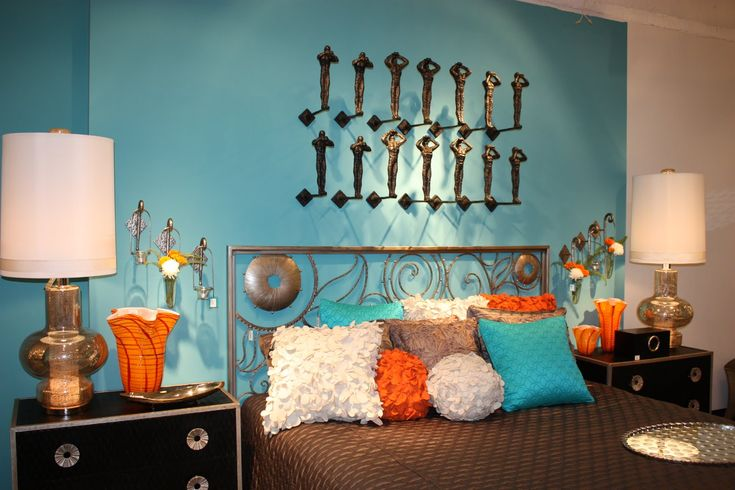 about orange bedroom decor on pinterest orange room decor orange