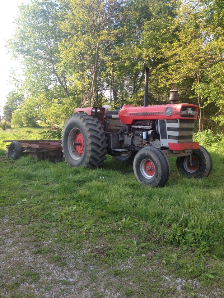 Massey Ferguson 1100 : Massey ferguson tractors pinterest