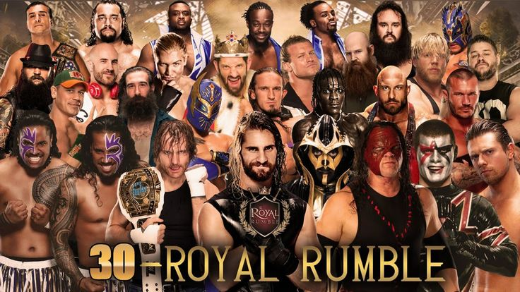30 MAN ROYAL RUMBLE MATCH PREDICTION 2016 - LIVE WWE ROYAL RUMBLE 2016