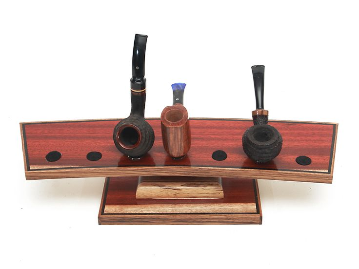 Satine (Blood Wood): 7 Pipe Stand