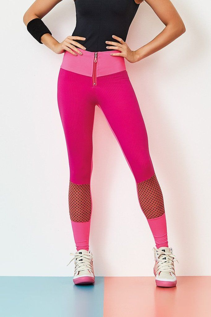 66862bd7d8935 Brazilian Workout Pink Legging | Bad Girl Fitness Wear | Brazilian workout,  Pink leggings, Workout wear