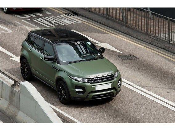 Matt Green Range Rover Evoque