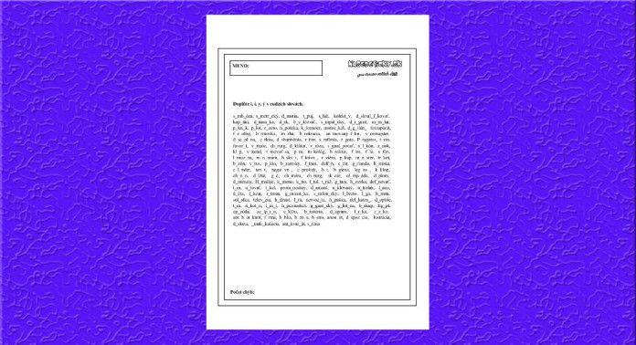 Písanie cudzích slov - Aktivity pre deti, pracovné listy, online testy a iné