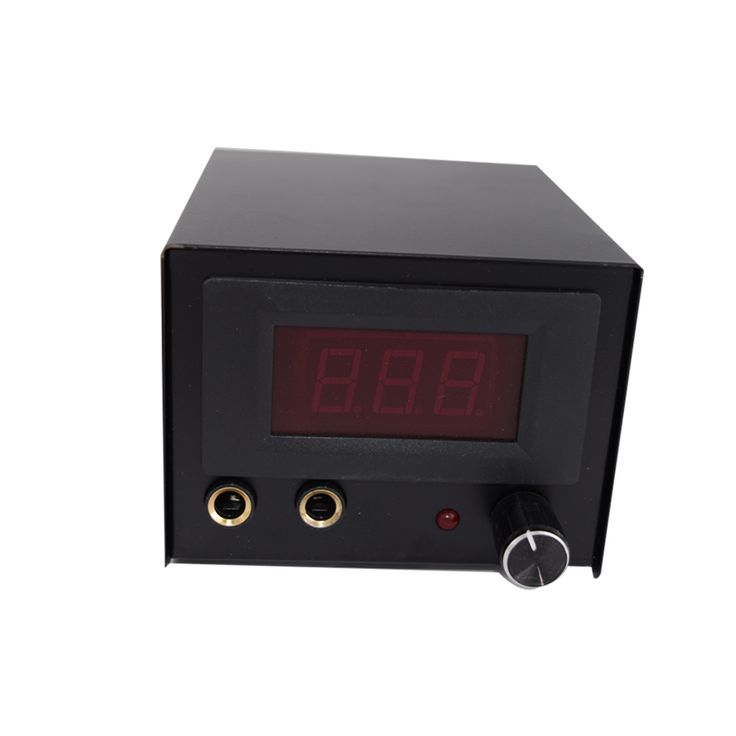 24.37$  Watch here - http://alisoc.shopchina.info/go.php?t=32721390194 - Hot Sale Professional tattoo machine kit LCD Display digital stainless steel dual Tattoo power supply  #aliexpress