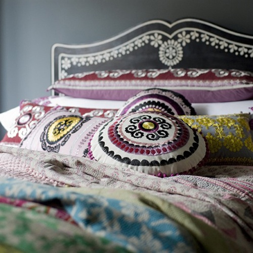 BoHo on the bed!