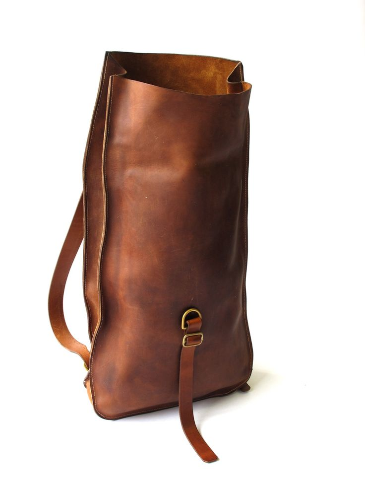 Brown High Leather Daypack Love Myyy Baggg D