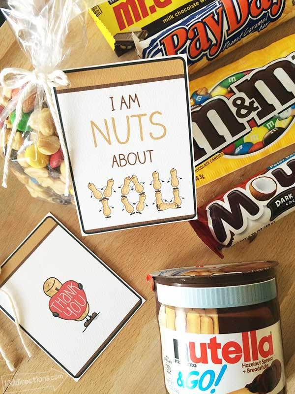 I'm Nuts About You Teacher Appreciation Gift Idea ...