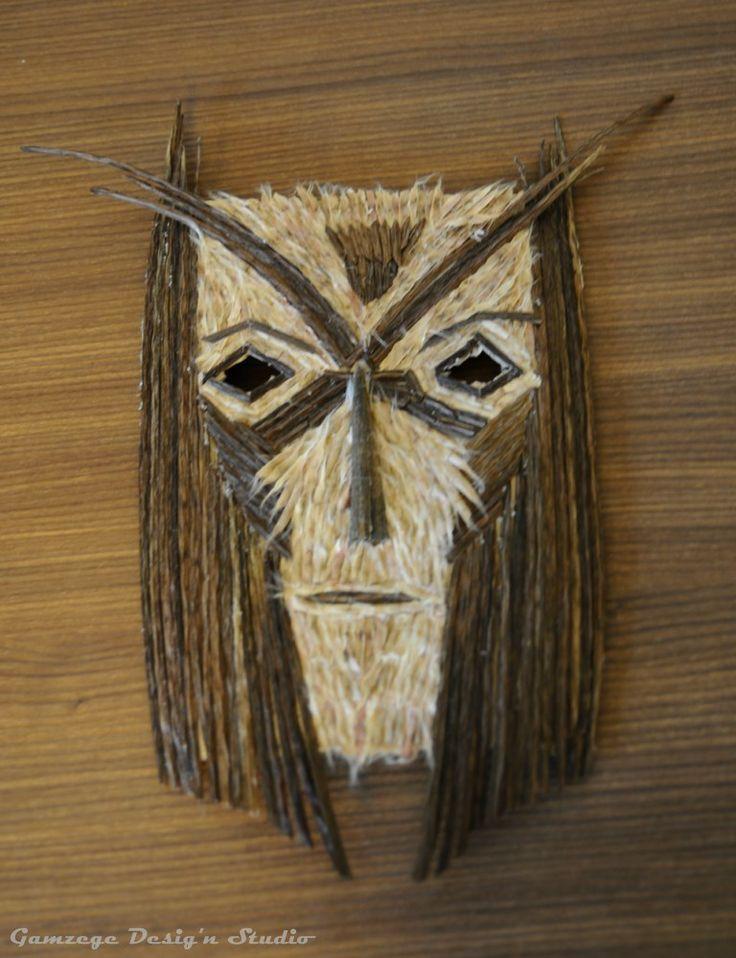 Mask Mad Wall Art Gamzege Desig'n Studio www.gamzegedesignstudio.com