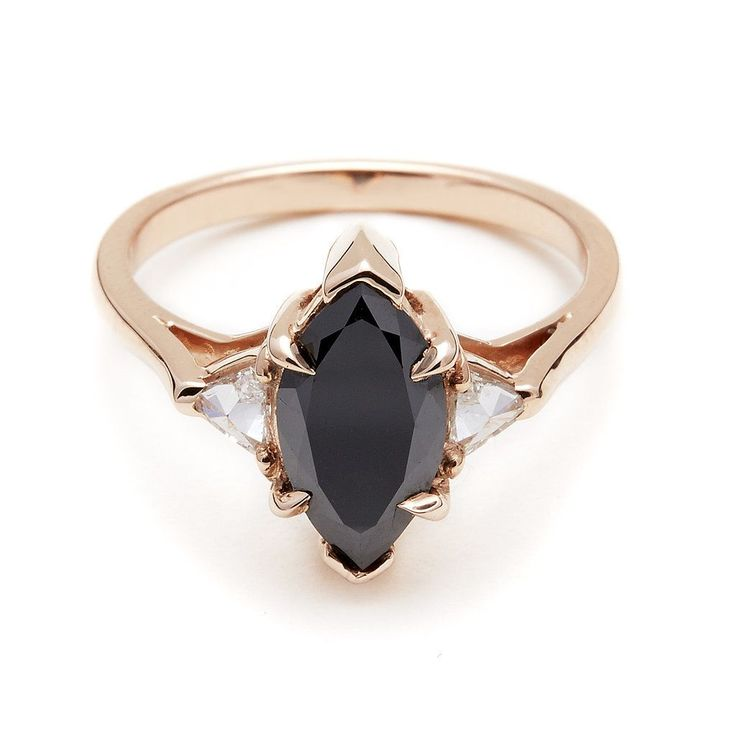 You Might Just Want a Rose Gold Engagement Ring After Seeing These: It's no secret that we all share a mutual love for Anna Sheffield's unique engagement rings —they feel a touch vintage yet still like an utterly personal pick for the wearer (as if you couldn't imagine someone slipping it on their finger until that very moment).