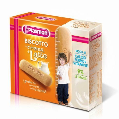 Biscuiti cu crema de lapte, Plasmon