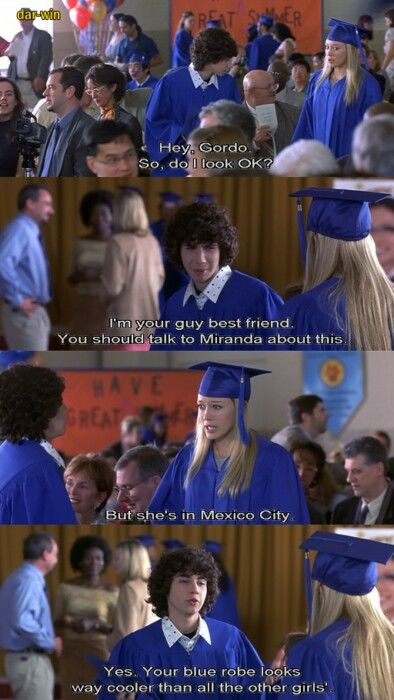 The Lizzie McGuire Movie and the show filled many afternoons of my youth.