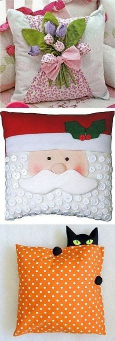 Christmas, easter Halloween pillows