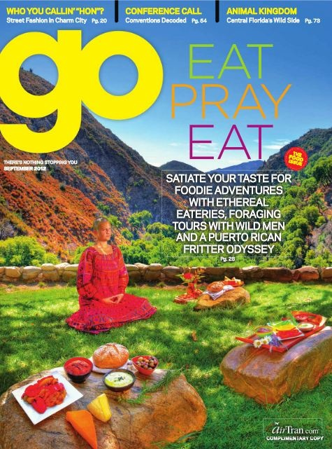 AirTran's GO magazine is devoted to the Foodies out there. Do not read on an empty stomach.