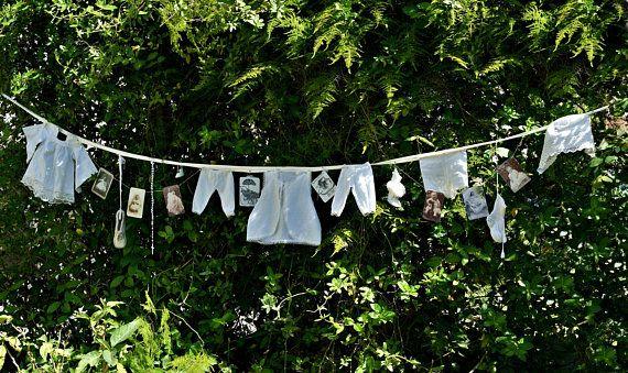 Baby Shower Decor Baby Shower Banner Shabby Chic Baby Shower