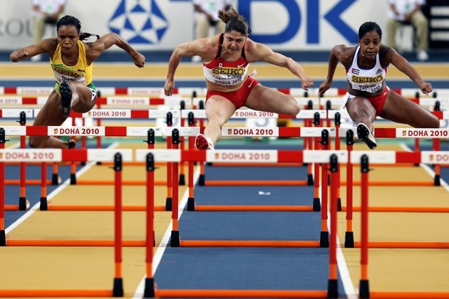 15 Faces to Watch at the 2012 London Olympic Games - Priscilla Lopes-Schliep of Canada took home a bronze medal for women's 100m hurdles at the Beijing Olympics and will be looking to get higher up on the podium in London.